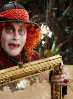 ALICE THROUGH THE LOOKING GLASS – Coloring Sheets