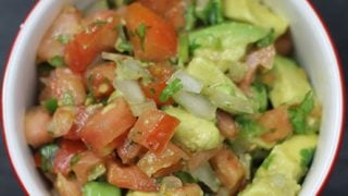 Fresh Avocado Pico De Gallo