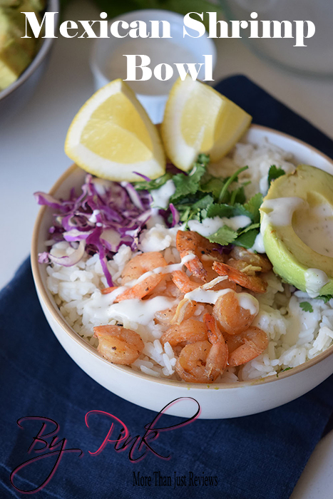 Mexican Shrimp Bowls