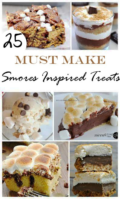 Smores Inspired Treats