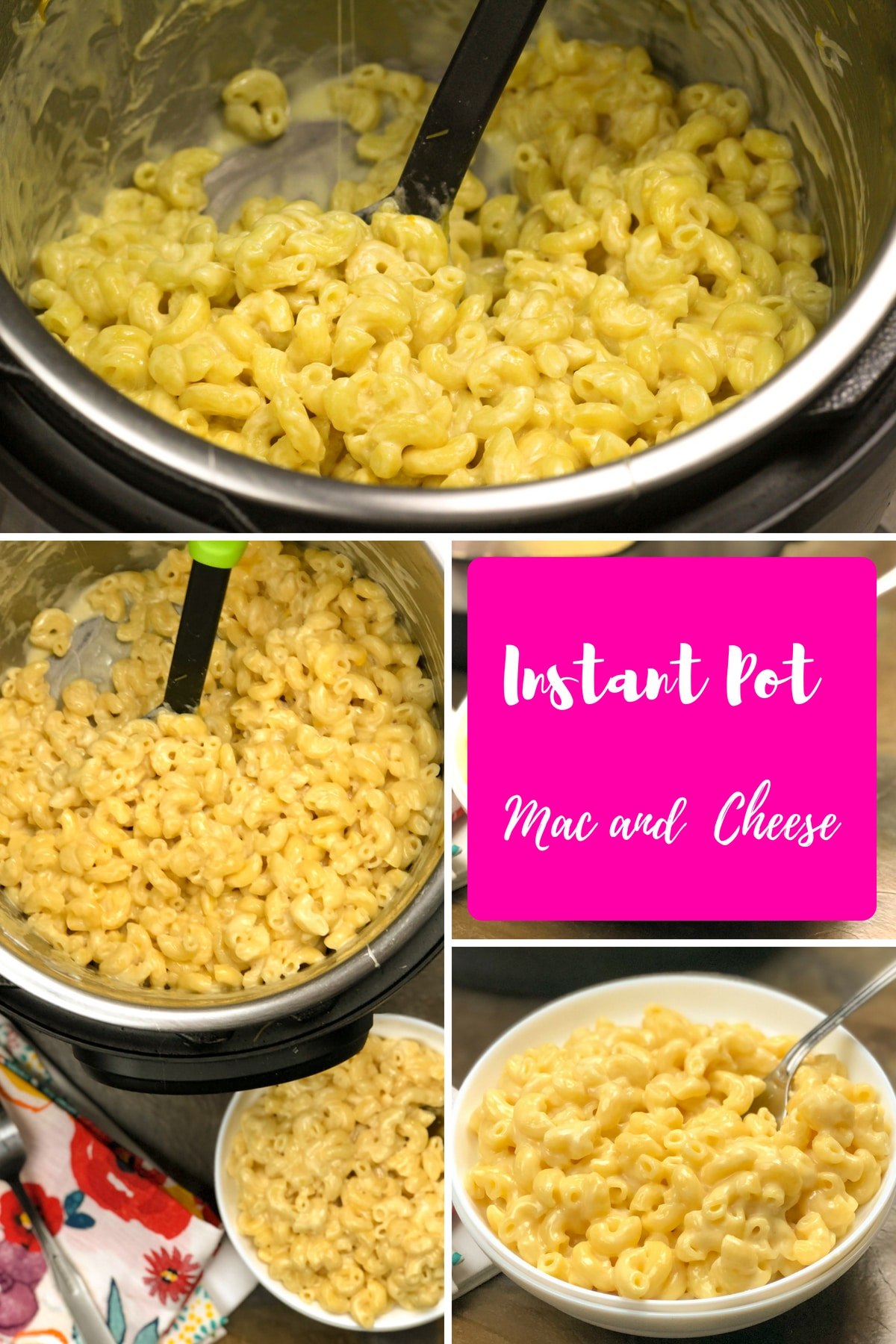 Cheesy, tender pasta, cooked to perfection every single time, no sticking, no mush just perfect al dente pasta each time. #easy #best #pressurecookerrecipes #kids #comfortfoods #instantpot #macandcheese #macaroniandcheese