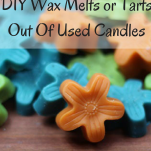DIY Wax Melts or Tarts Out Of Used Candles