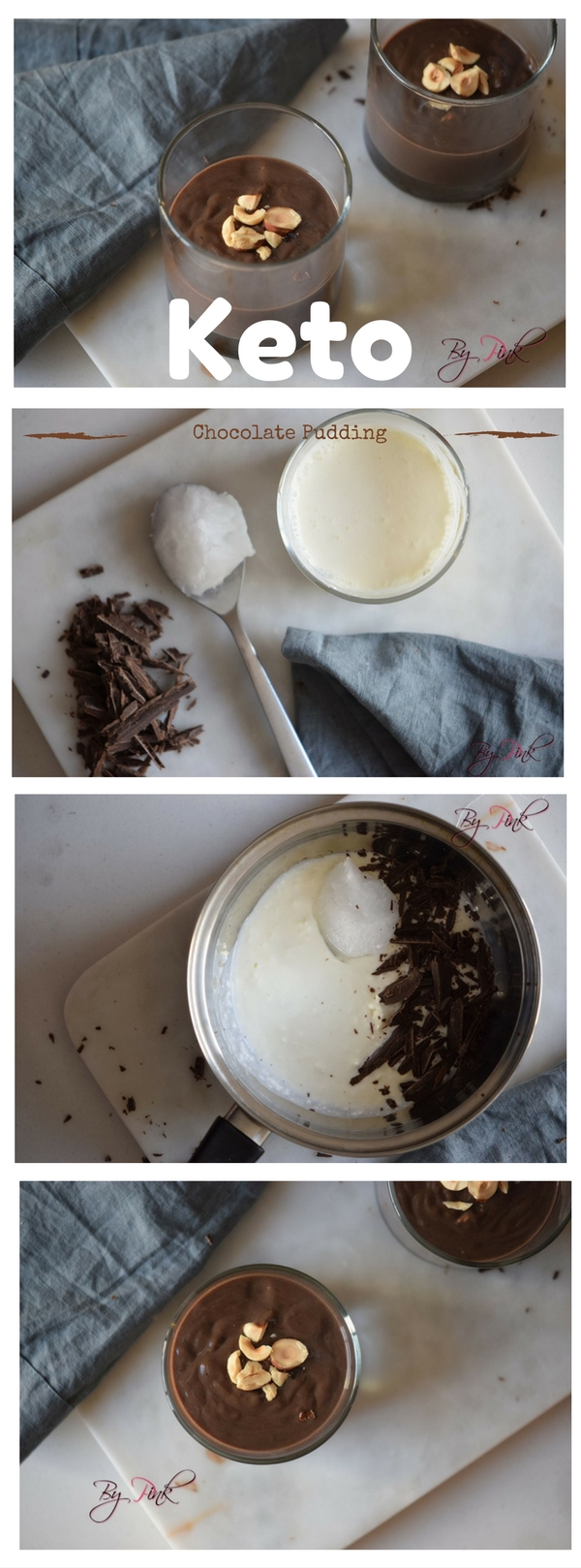 Keto Chocolate Pudding