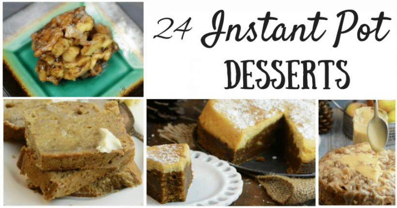 24 of the Best Instant Pot Desserts