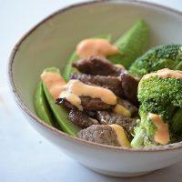 Simple Beef Steak Bowl