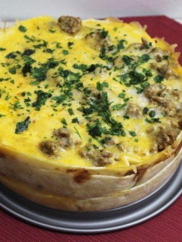 Taco Pie Recipe For The Instant Pot