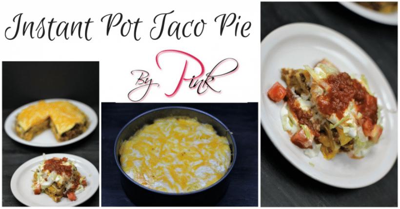 Instant Pot Taco Pie