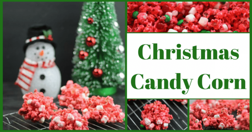 candy corn for christmas a holiday popcorn ball recipe by pink - Christmas Candy Corn