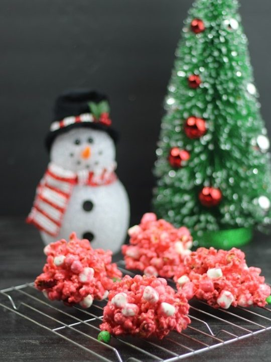 Candy Corn For Christmas: A Holiday Popcorn Ball Recipe