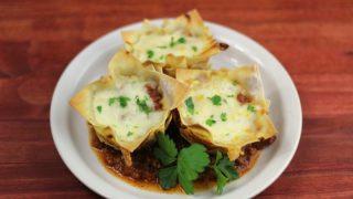 Lasagna Bites Recipe
