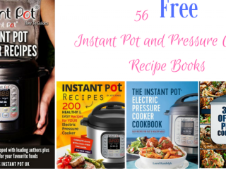 FREE Instant Pot and Pressure Cooker Recipe Books