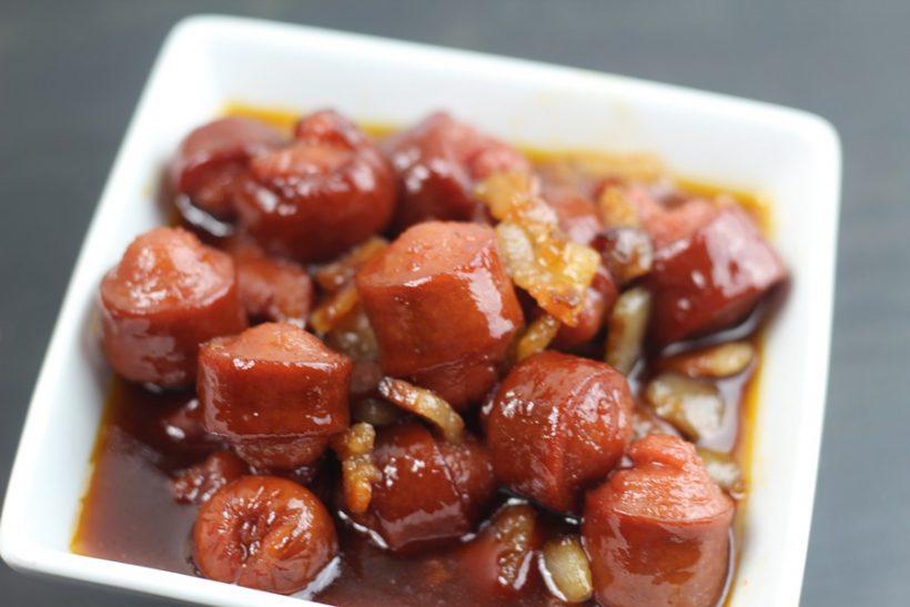 Easy Bacon Hot Dog Bites (Instant Pot)