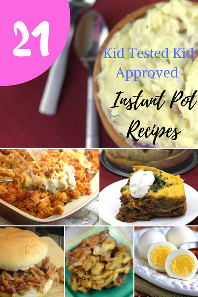 Awesome List of Recipes For Kids That You Can Cook With Your Instant Pot. Lots can be made into freezer meals.. #instantpot #kid #friendly #recipes #meals #healthy #lunch #pasta #easy