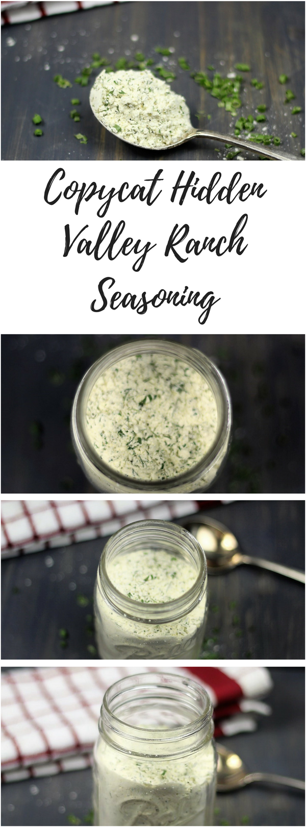 I decided I needed make my own ranch to make Crack Chicken, so I came up with this Copycat Hidden Valley Ranch Seasoning. #instantpot #crackenchicken #chickenrecipes #chicken