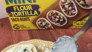 Instant Pot Chicken Gyro Boats