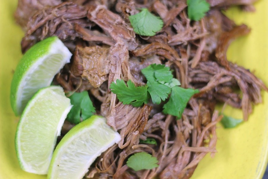 Instant Pot Cilantro Chili Lime Shredded Beef