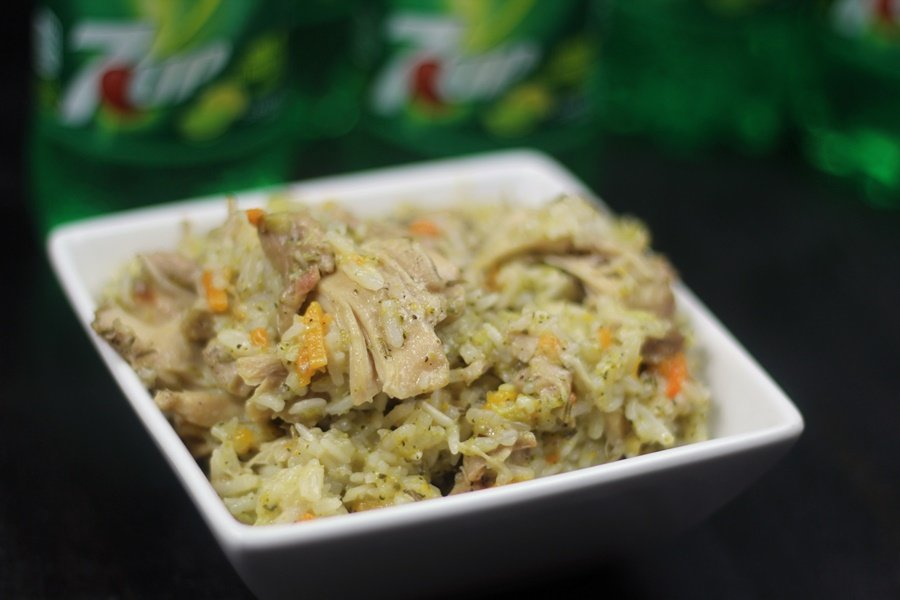 Instant Pot Creamy 7-Up Chicken, Rice, and Veggies