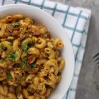 Instant Pot Cheeseburger Macaroni Homemade Hamburger Helper Recipe