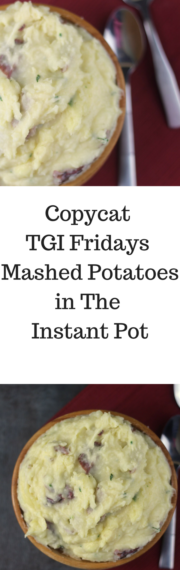 TGI Fridays Loaded Mashed Potatoes