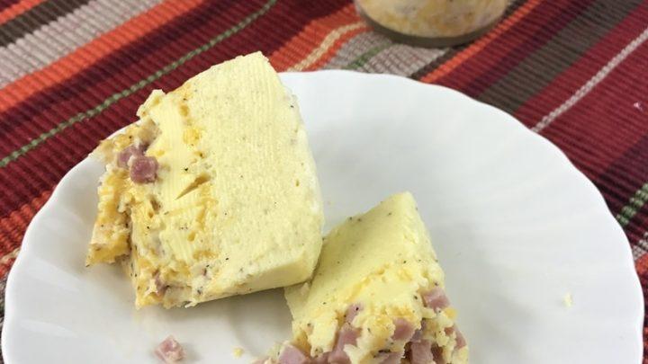 Copycat Starbucks Sous Vide Egg Bites (Ham and Cheddar)