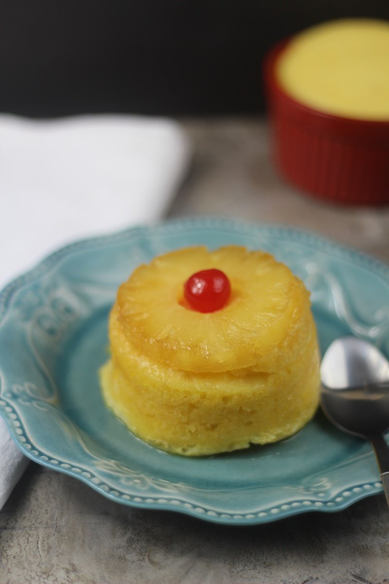 Instant Pot MIni Pineapple Upsidedown Cake