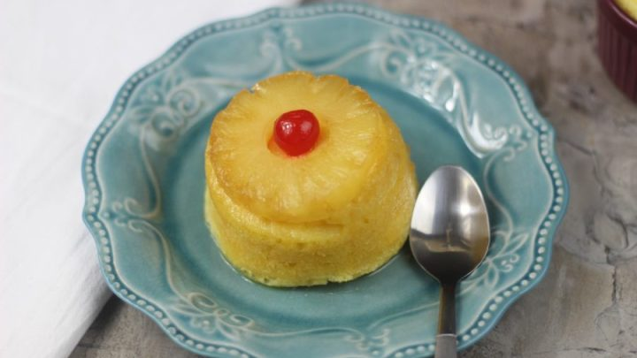 Mini Pineapple Upside Down Cake|Instant Pot