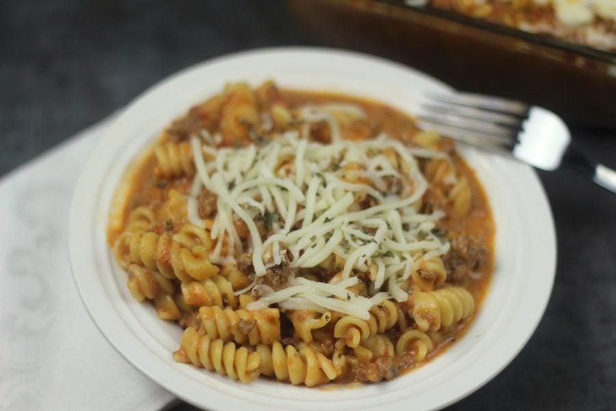 Instant Pot Tomato Mozzarella Pasta