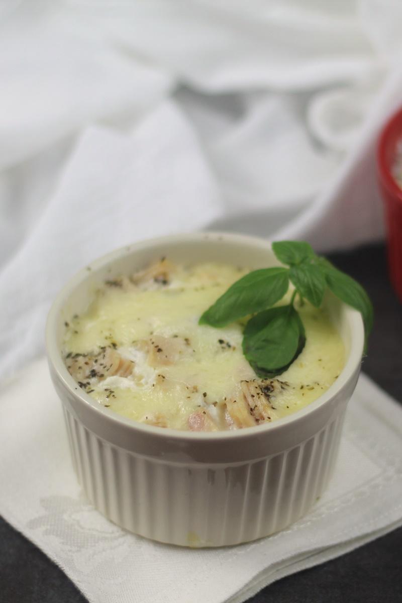 Instant Pot Tomato, Basil, and Mozzarella Egg Cups