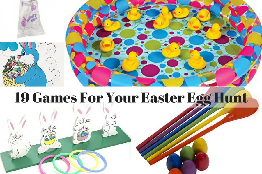 19 Games For Your Easter Egg Hunt