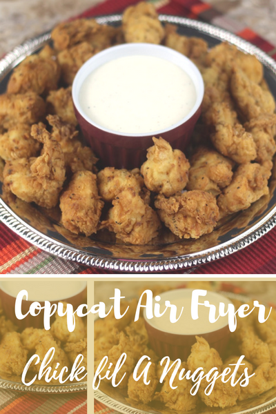 Copycat Chickfil A Nuggets #airfryerrecipes #airfryerchicken #airfryerchickenbreast