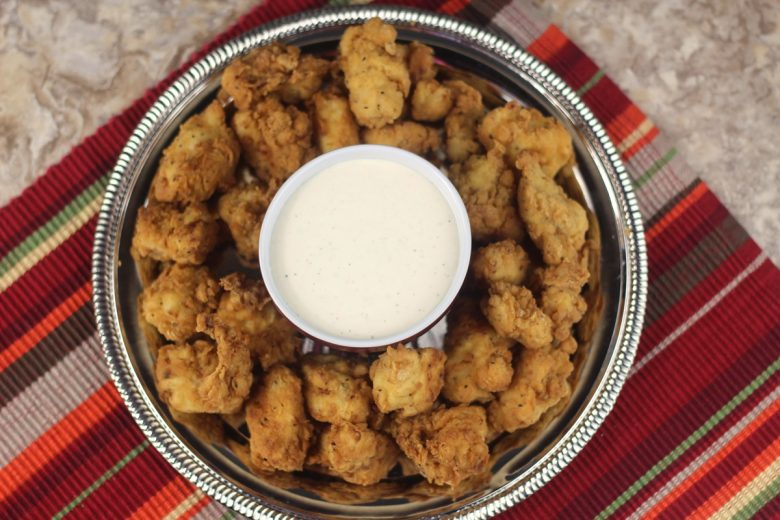 Copycat Air Fryer Chick-fil-A Nuggets #airfryerrecipes #airfryerchicken #airfryerchickenbreast
