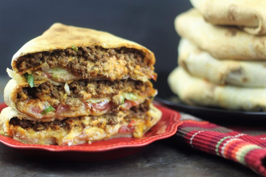 Copycat Taco Bell Air Fryer Crunch Wraps Recipe