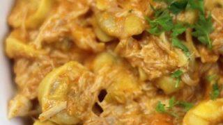 Creamy Instant Pot Chicken Tortellini with Veggies