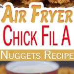 pin image for air fryer chick fil a nuggets