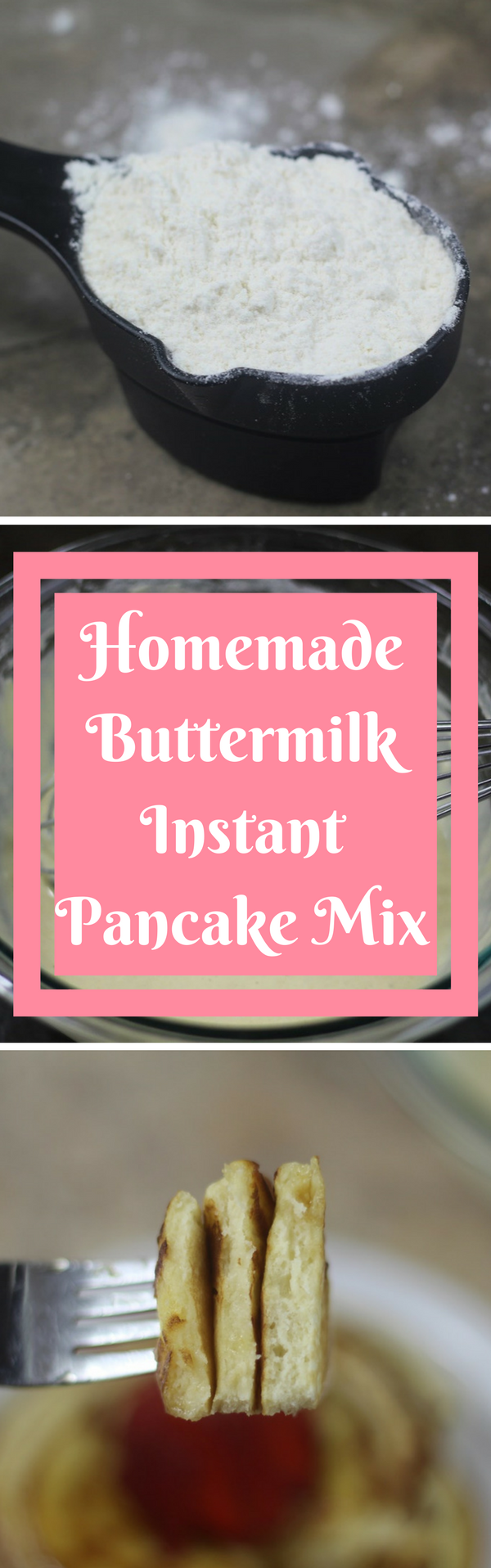Homemade Buttermilk Instant Pancake Mix