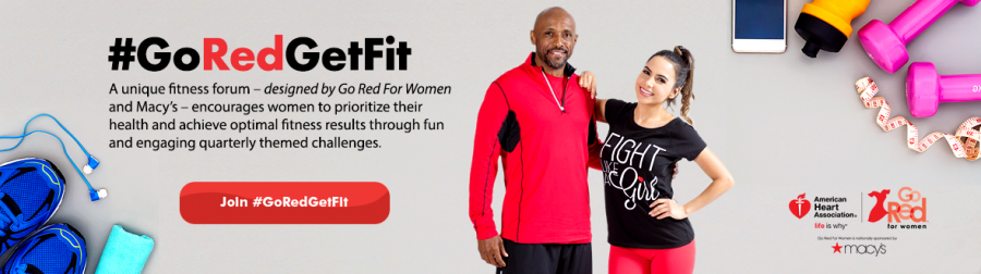 Life is honestly too short to not take care of our bodies so #GoRedGetFit!