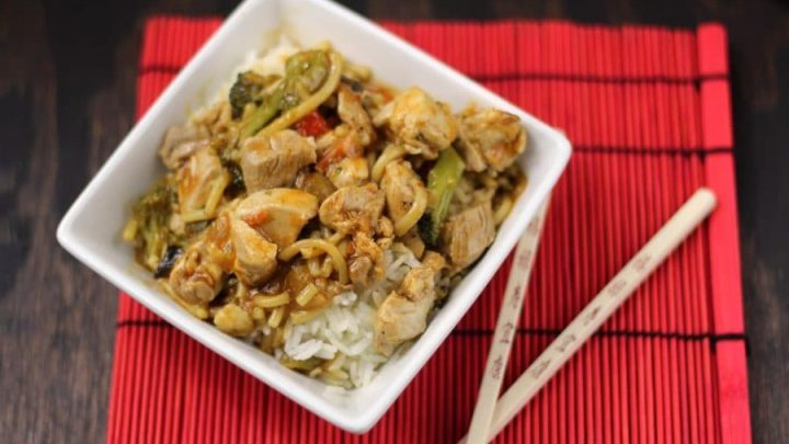 Easy Sweet and Sour Chicken with Perfect Rice