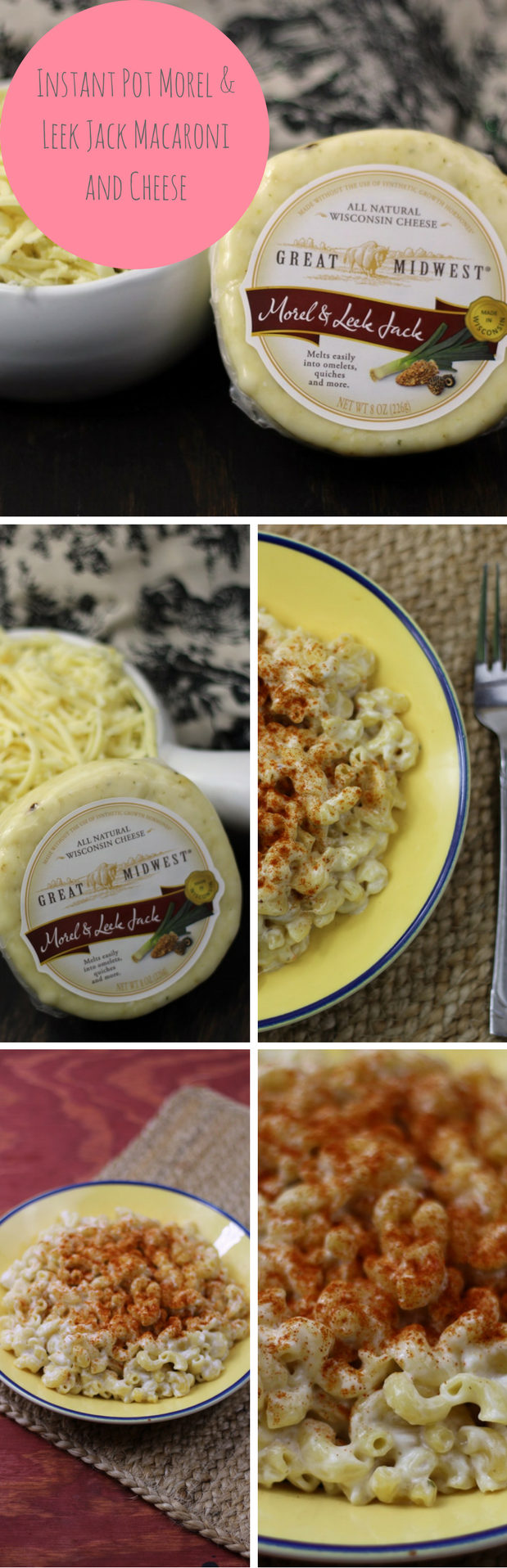 Instant Pot Morel & Leek Jack Macaroni and Cheese