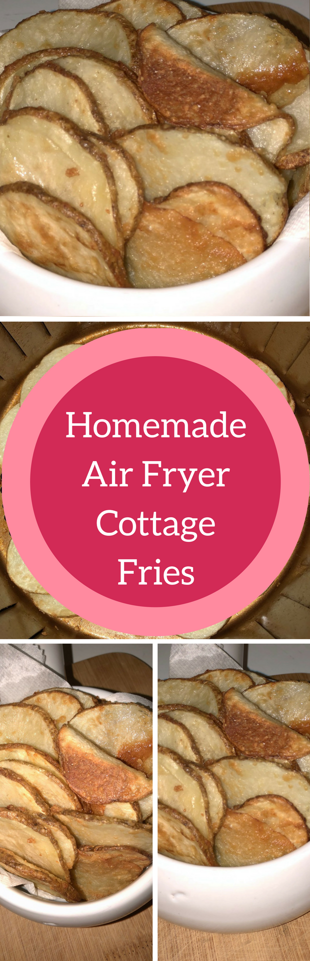 Homemade Air Fryer Cottage Fries