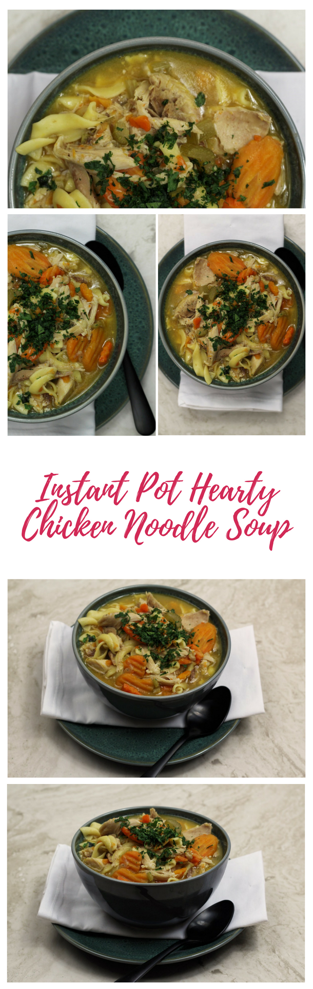 Instant Pot Hearty Chicken Noodle Soup