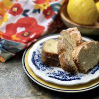 Lemon Air Fryer Pound Cake Recipe