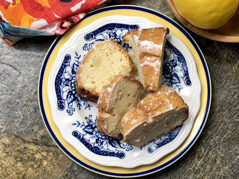 I grew up making lemon pound cake, and now that I am an adult and have kids of my own I carry on the tradition. I have just upgraded my recipe and use my beloved Air Fryer. This Lemon Air Fryer Pound Cake Recipe below is a breeze to make, and it is so moist and scrumptious down to the last drop. When I first created this pound cake recipe for my Air Fryer I was a little nervous if it would turn out. But it turned out perfectly, and I haven't looked back at baking cakes in my oven!