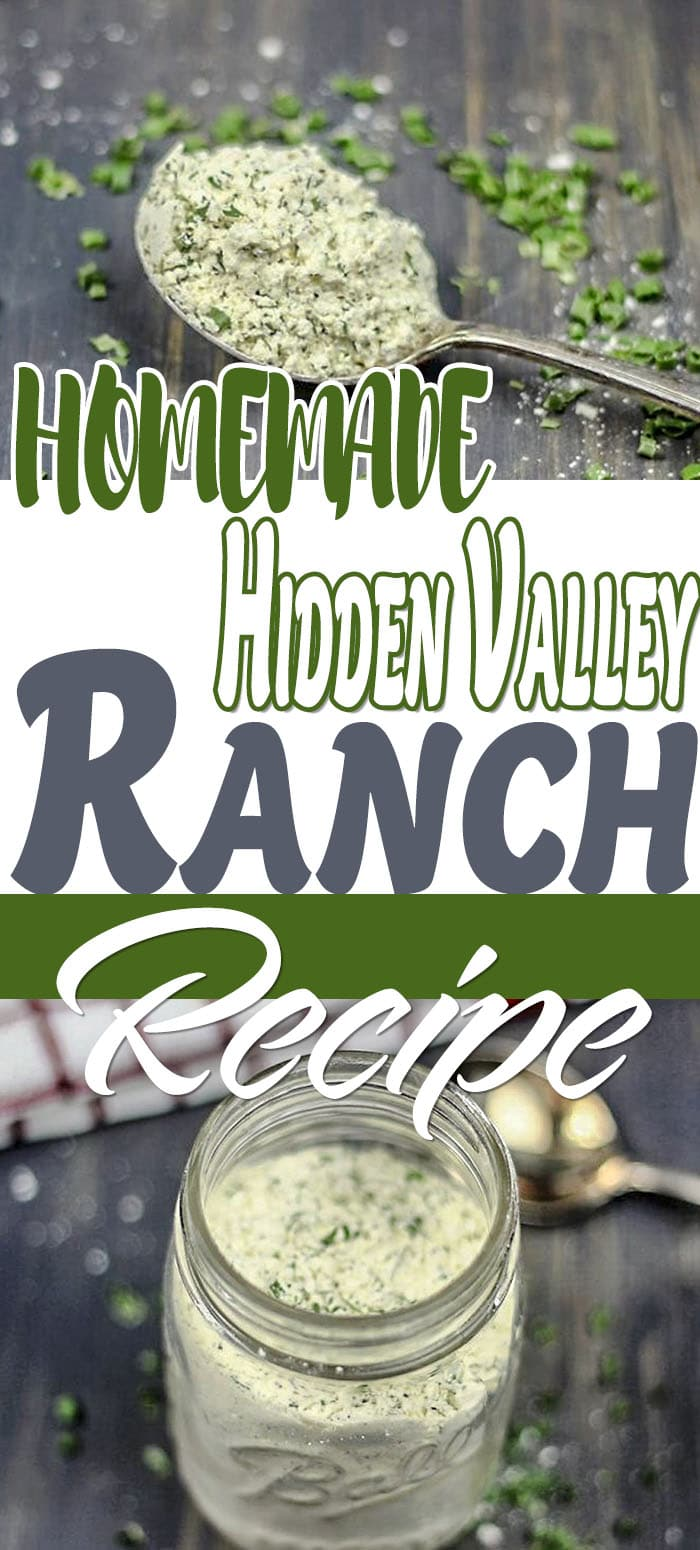 pinterest for hidden valley ranch seasoning