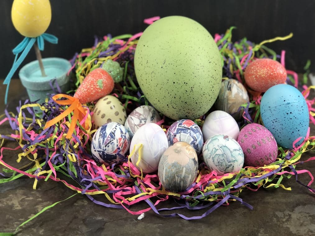 Silk tie-dyed eggs have become one of the most innovative ways to dye an Easter egg, but I go a step further. I pull out my amazing instant pot and use it to help in the process and the final product is amazing. A family tradition in our home is dying Easter eggs, we have done it all the years, and we have had a lot of fun doing it. I wanted to change things up from the traditional box dyes you use with vinegar and water, and transform the eggs into unique Easter eggs.