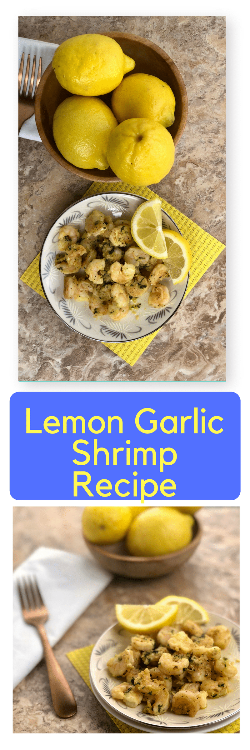 Lemon Garlic Shrimp has become a family favorite overnight. This dish is so quick and easy to make but packed full of flavor. It is a gourmet meal that you can make in under 10 minutes of prep and cook time. The minced garlic paired with the lemon and parsley, really make this shrimp taste outstanding. You can serve over a bed of rice, pasta, couscous, quinoa, or alone with a side of crusty bread for a delectable dinner any day of the week. However you decide to serve it up, I am sure it will be a hit!
