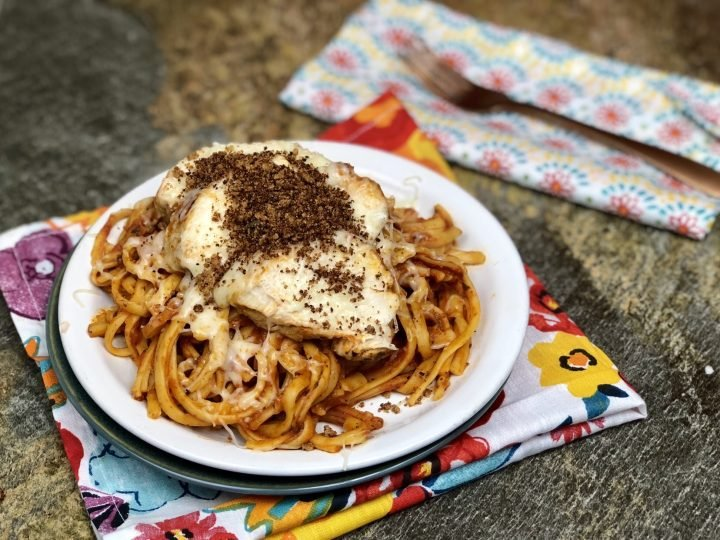 Here in my home, we have done one pot chicken parmesan but never in the Instant Pot check out that recipe is here. We have been on this wild mission to convert everything we can to the Instant Pot and so far so good. As a result, today I madeInstant Pot Chicken Parmesan. Making chicken parmesan in my instant pot was pretty easy and the flavor was amazing! We make it all the time now.