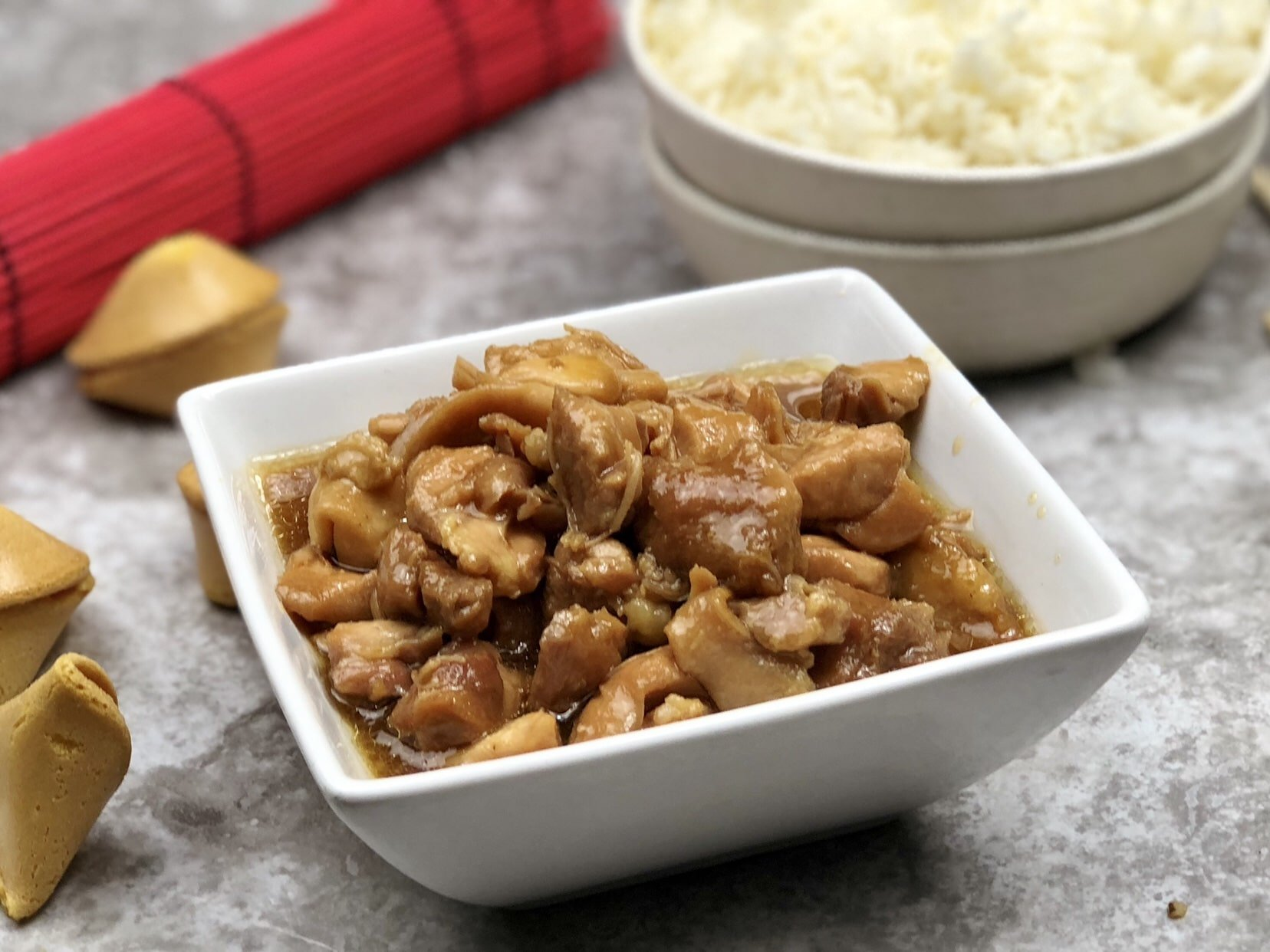 Instant pot copycat panda express mandarin chicken by pink this panda express chicken recipe is great served over rice either white or fried or with noodles i like to have mine with both ccuart Images