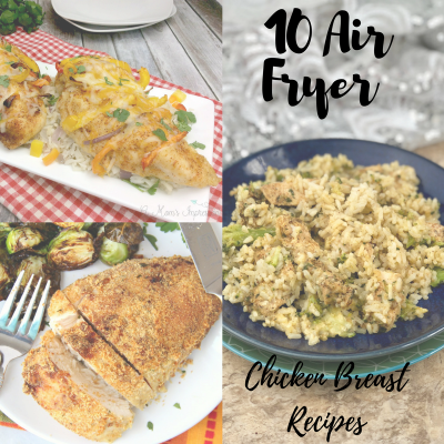 10 Air Fryer Chicken Breast Recipes