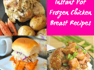Forget to thaw chicken for dinner? That is okay, I bet you didn't know you could cook frozen chicken breast in the instant pot, feast your eyes on these fantastic Instant Pot Frozen Chicken Breast Recipes below. The Instant Pot is hands down one of the most popular kitchen gadgets right now. #chicken #chickenbreast #frozenchicken #recipes