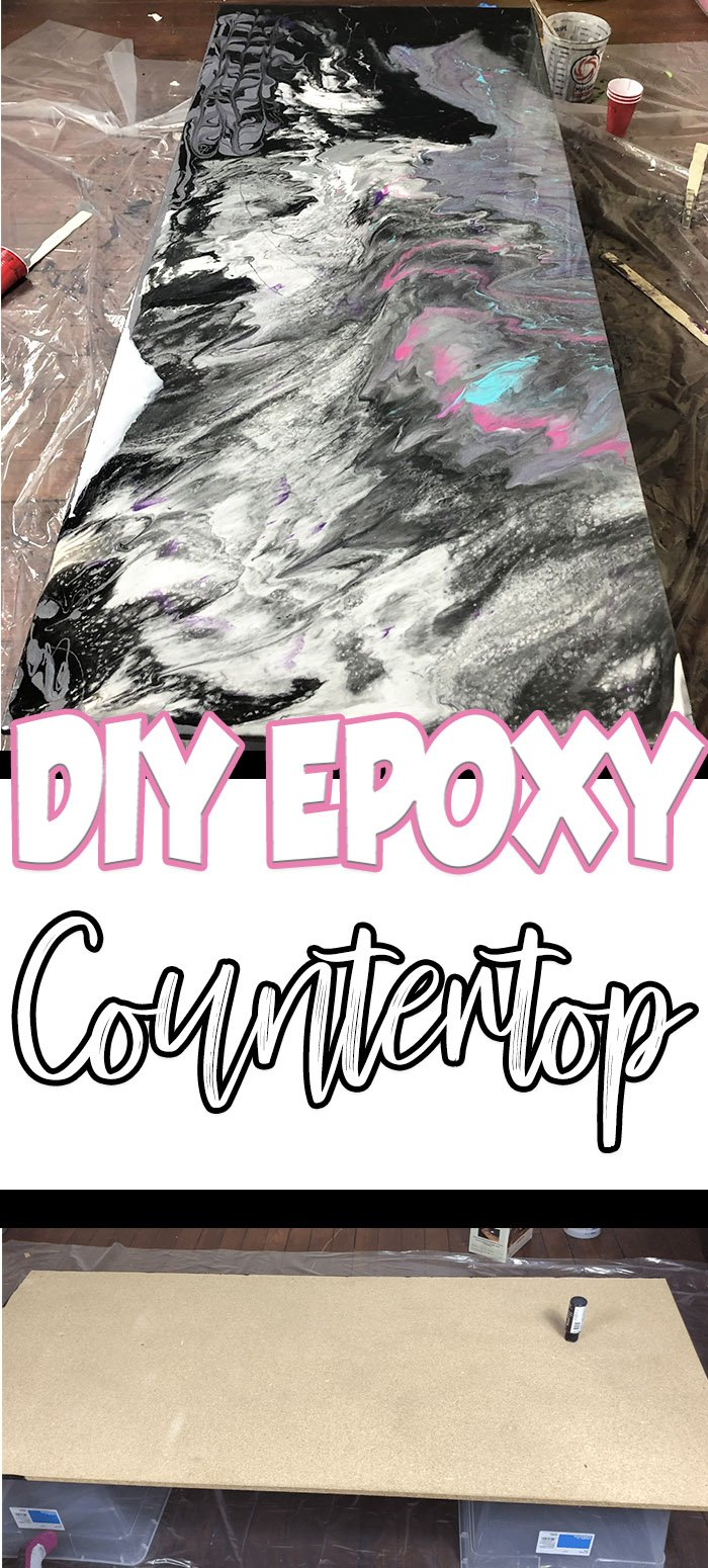 Diy Epoxy Countertops By Pink